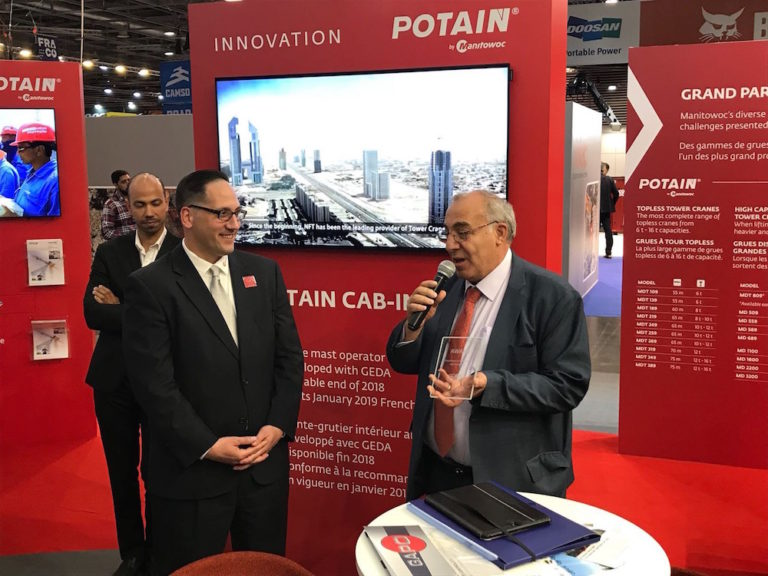 """NFT Awarded for """"Excellence in Operations and Marketing"""" at INTERMAT"""