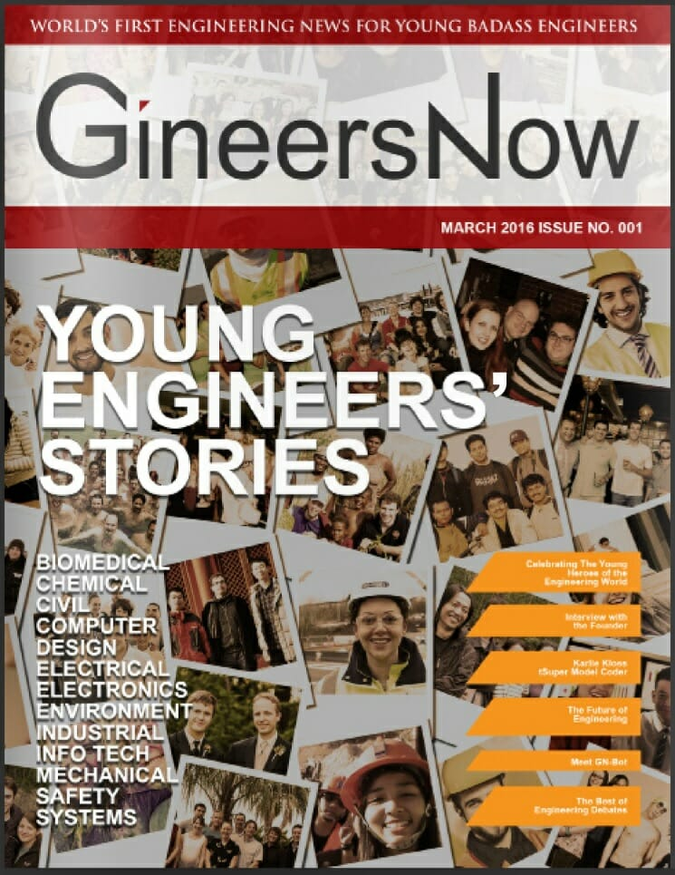 The First Issue: Engineering Magazine For Young Engineers