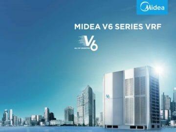 Midea Full DC Inverter V6 Series VRF Redefines Strong Performance