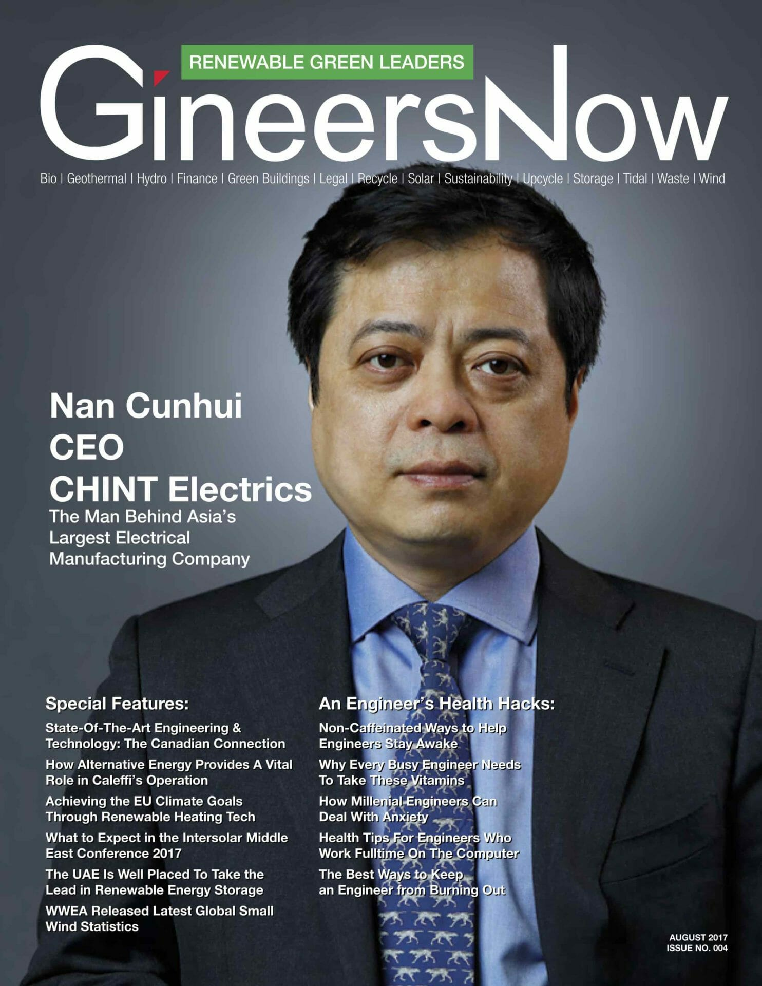 CHINT's Chairman Nan Cunhui: A Dream Chaser On Today's World Economic Stage
