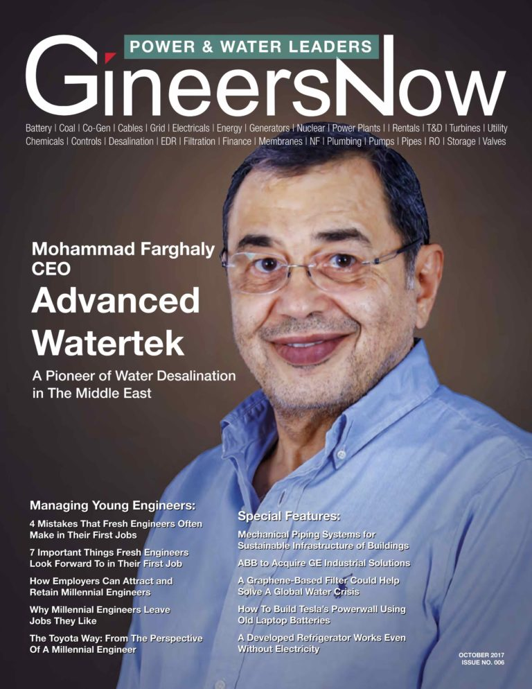 desalination in the middle east Fdu magazine, summer 2003, is desalination the answer recently, winters worked under a grant from the middle east desalination research center.
