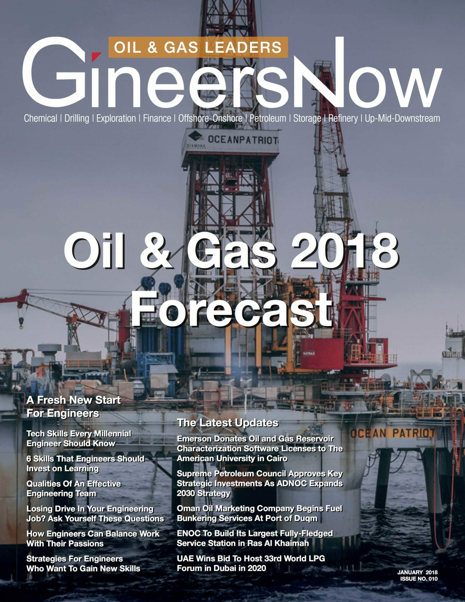 Oil and Gas Forecast 2018 - GineersNow