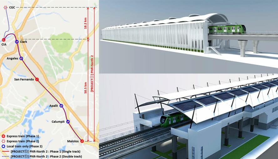 $6 Billion Malolos-Clark Railway Project - GineersNow